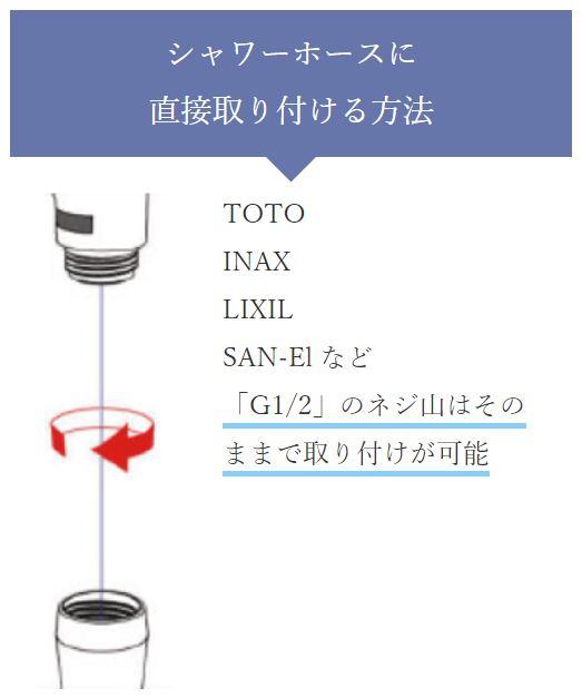 ミラブルのシャワーヘッドの交換方法!取り付け・取り替えのやり方は簡単!
