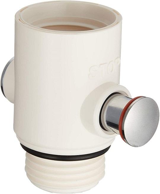 ミラブルは手元スイッチで止水できる?止水ボタンで水流を止める方法 ストップシャワーアダプター 手元ストップ